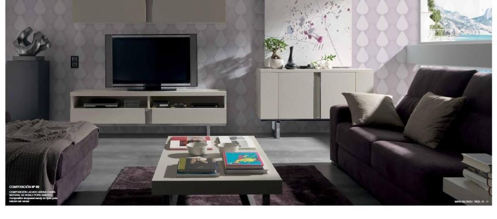 Muebles de salón modernos | Muebles Vallejo