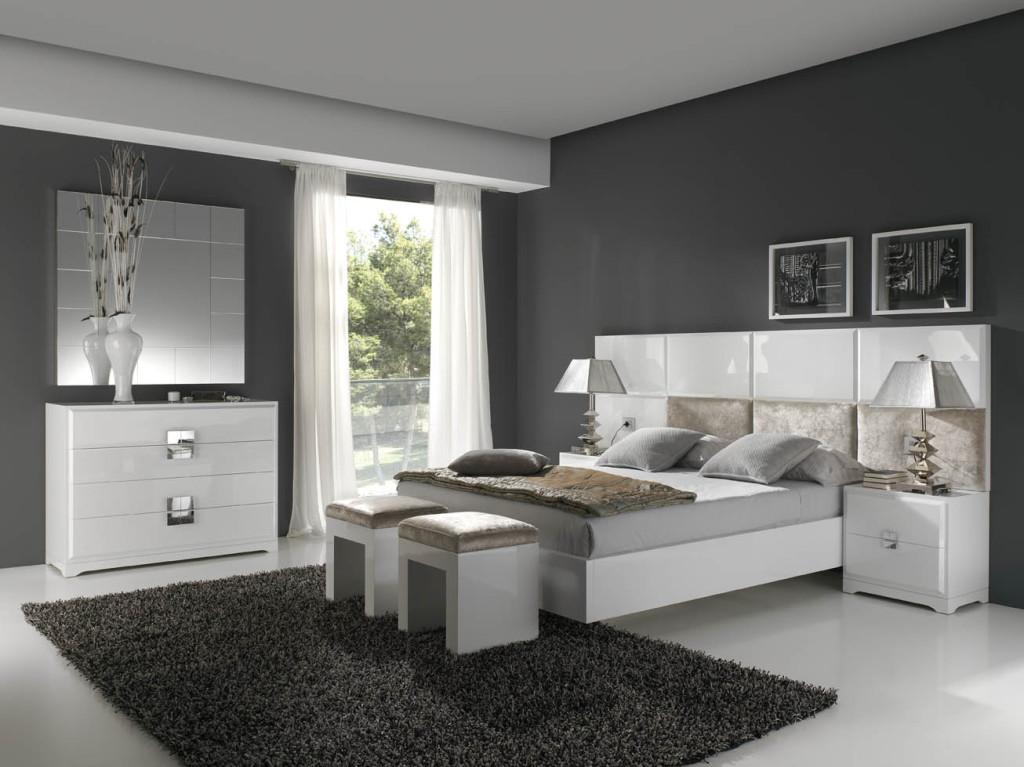Dormitorio moderno muebles vallejo for Muebles para dormitorios