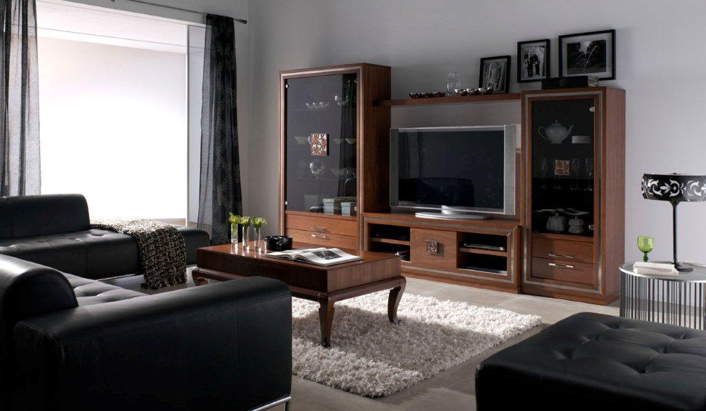 Muebles de sal n cl sicos muebles vallejo - Muebles de salon contemporaneos ...